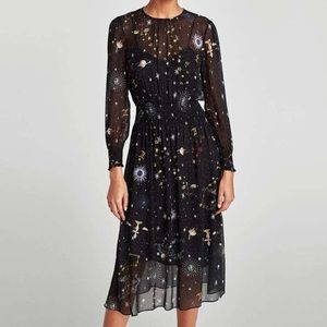 Zara Constellation Dress